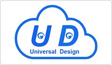 つくばマルチメディアのWEBユニバーサルデザインマーク