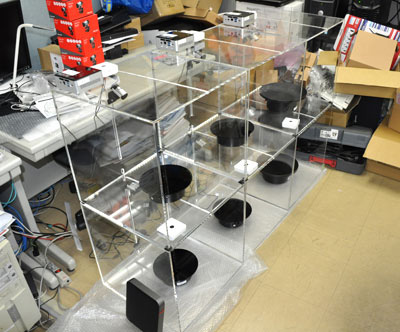 複数ボックス型ライブストア通販システム