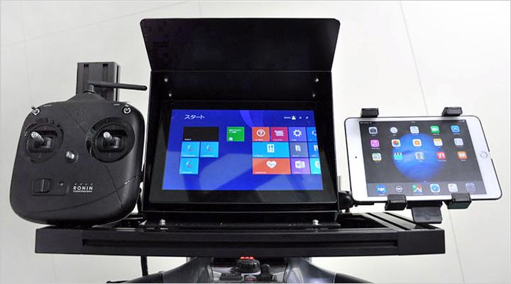 ハイスペックコンピュータ・タブレット・コントローラーを搭載