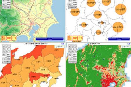 WebGIS開発・地理情報システム